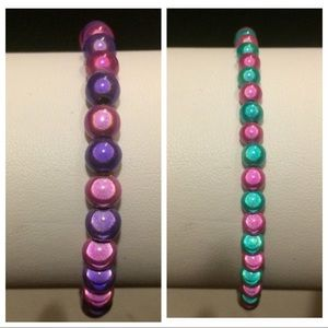 5mm or 4mm Miracle/Wonder Bead Stretch bracelet